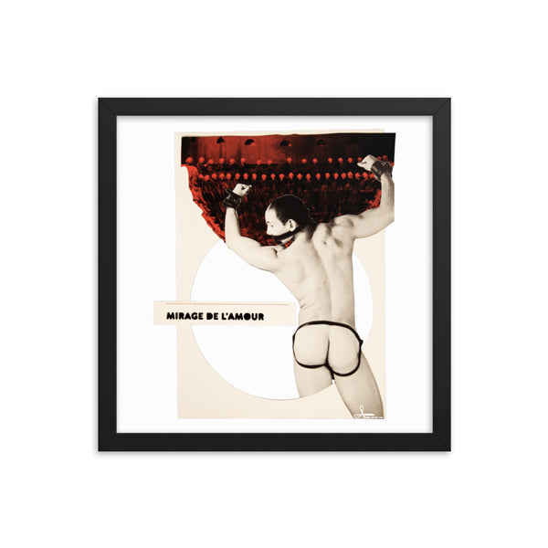 Mirage de l'amour : Framed photo paper poster