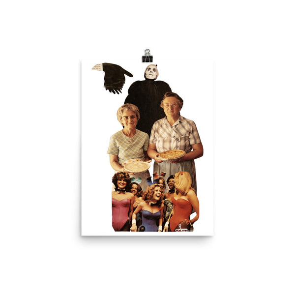 Pie of your life : Photo paper poster