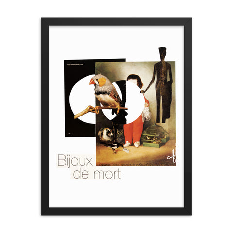 Bijoux de mort : Framed photo paper poster
