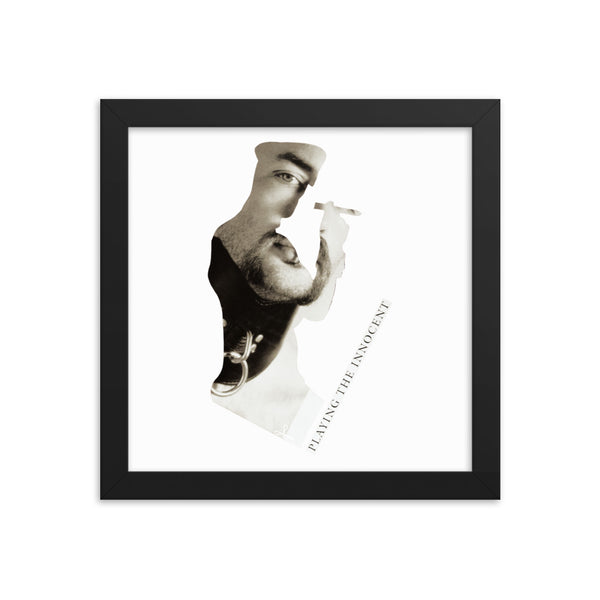 Playing the Innocent : Framed photo paper poster