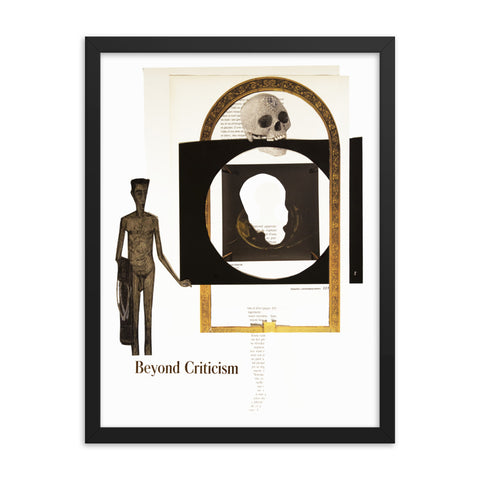 Beyond Criticism : Framed photo paper poster