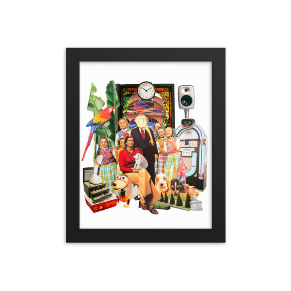 Happy Property : Framed photo paper poster