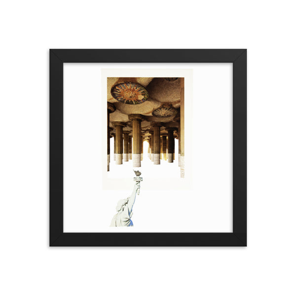 Light My Fire : Framed photo paper poster