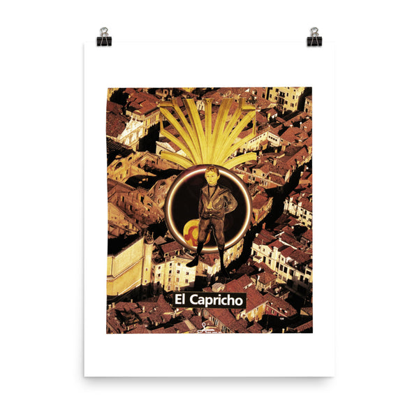 El Capricho - City Hero : Photo paper poster