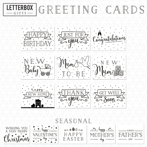 Letterbox Gifts Greetings Cards