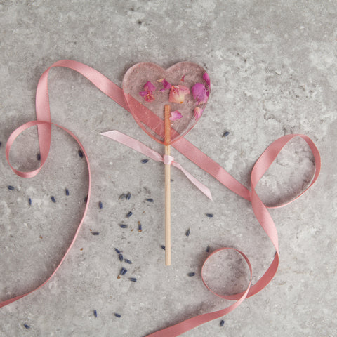 Rose Flower Lollipop