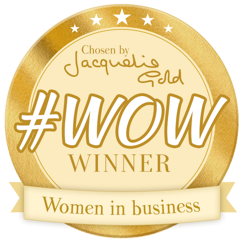 Letterbox Gifts is a Jacqueline Gold #WOW winner!