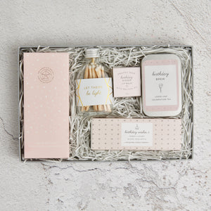 Letterbox Birthday Gift Set Flatlay