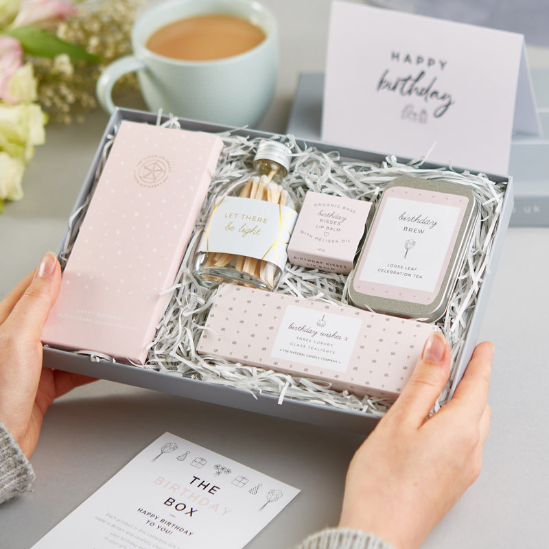 Receiving a Birthday Letterbox Gift Set