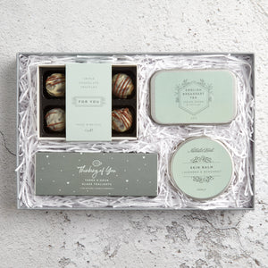 Letterbox Gift set 'Thinking of you'