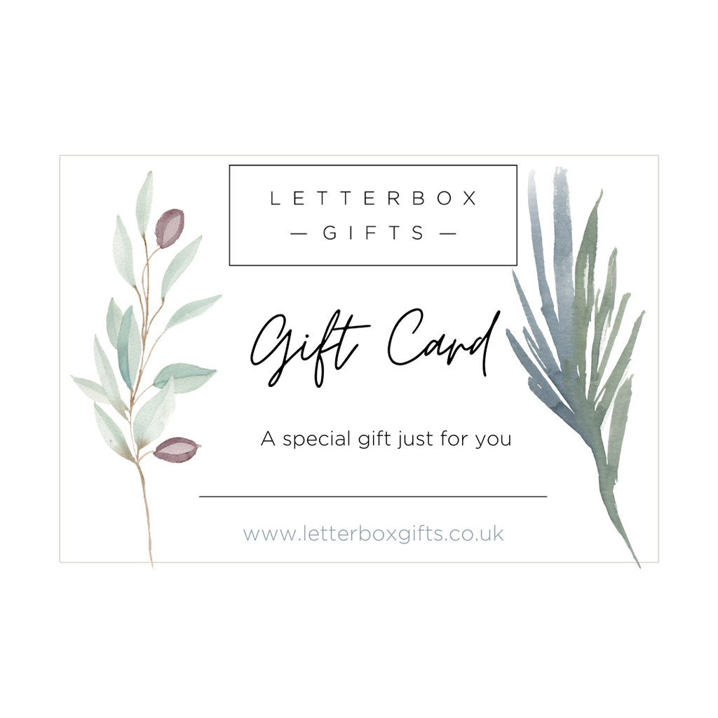Letterbox Gift Card