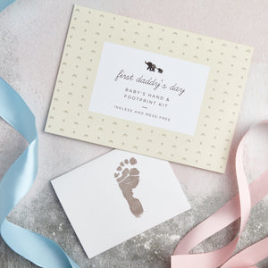 First Father's Day- Baby's Footprint Kit