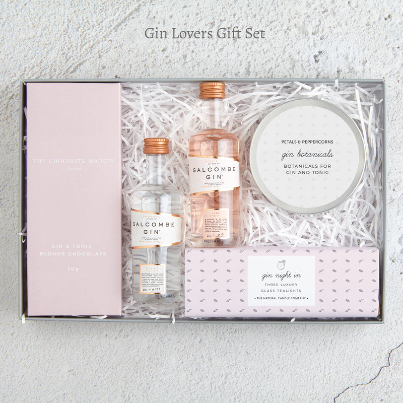 The 'Gin lovers' letterbox gift set