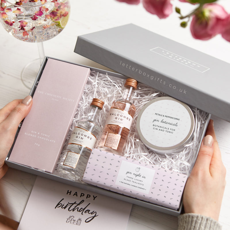 Receiving a Gin Lovers Letterbox Gift set