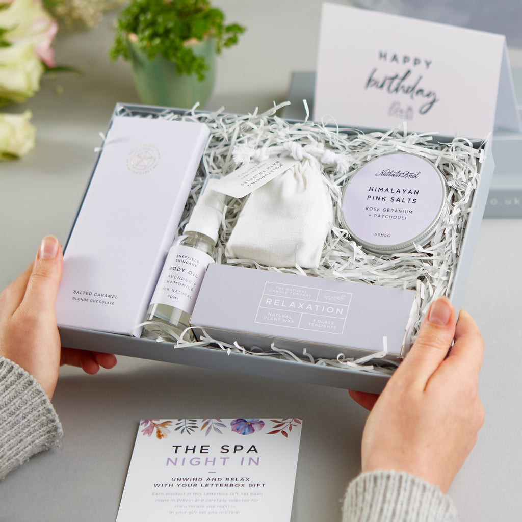 Receiving a Spa Night In Letterbox Gift Set