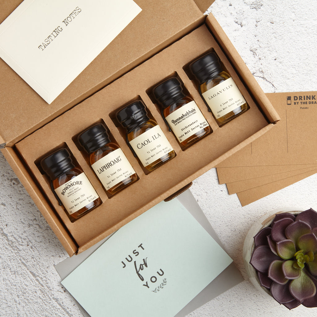 Letterbox Whisky Gift Set with 'Just for you' card