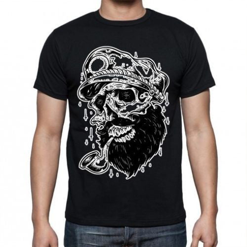 Black Skull Sailor T-shirt