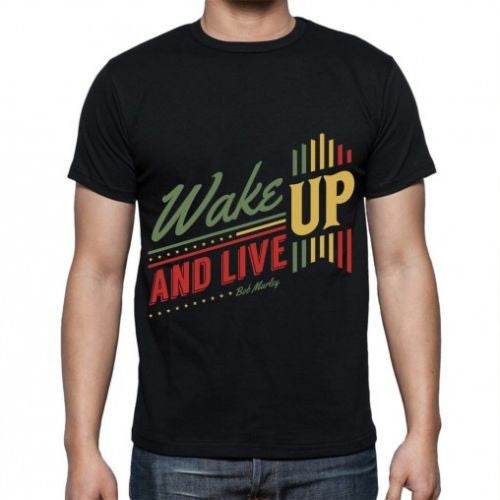 Black Wake up T-shirt