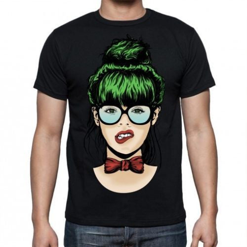 Black Nerdy Girl T-shirt