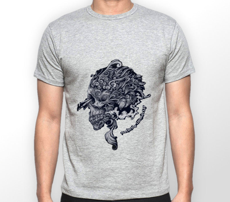 Custom Mens Grey Shirt