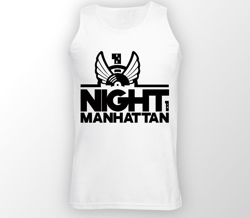 Custom Mens White Vest