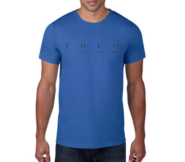 Custom Mens Royal Blue Shirt