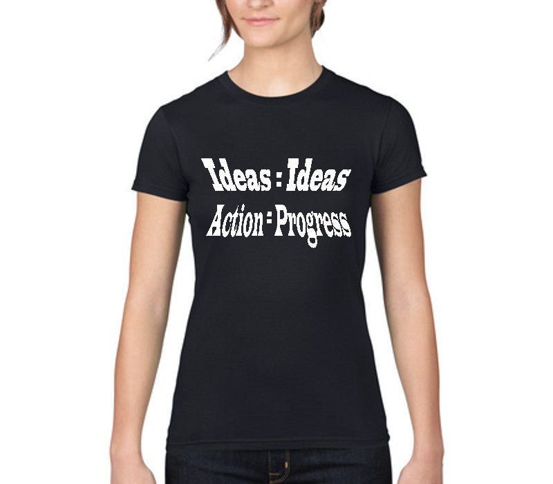 Custom Womens Black Shirt
