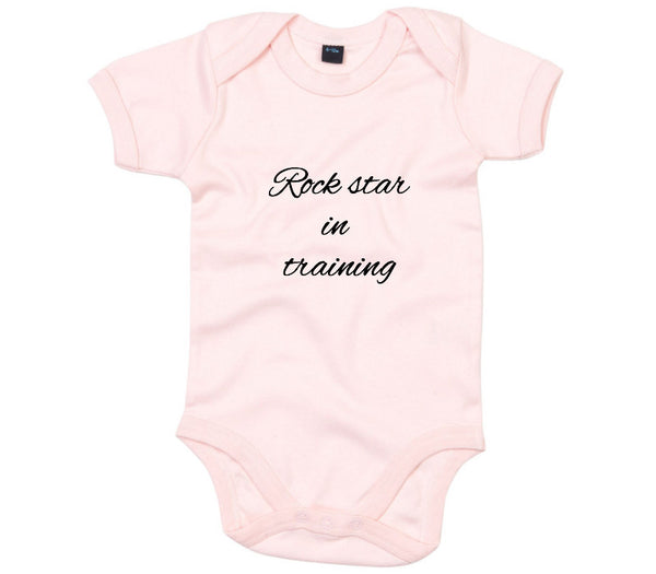 Custom Powder Pink Babygrow