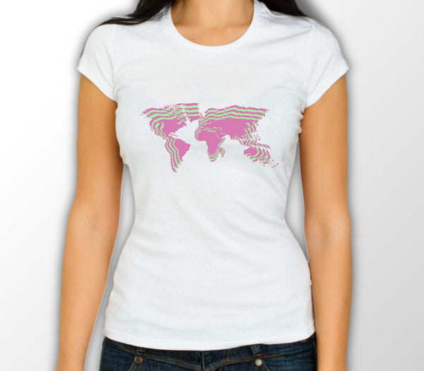 Custom Womens White Shirt