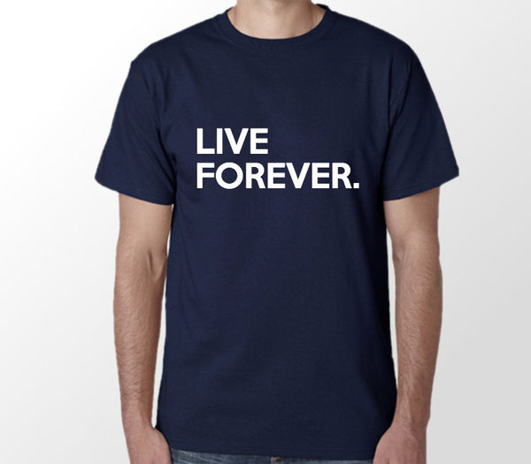 Custom Mens Navy Shirt