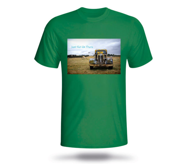Custom Mens Kelly Green Shirt