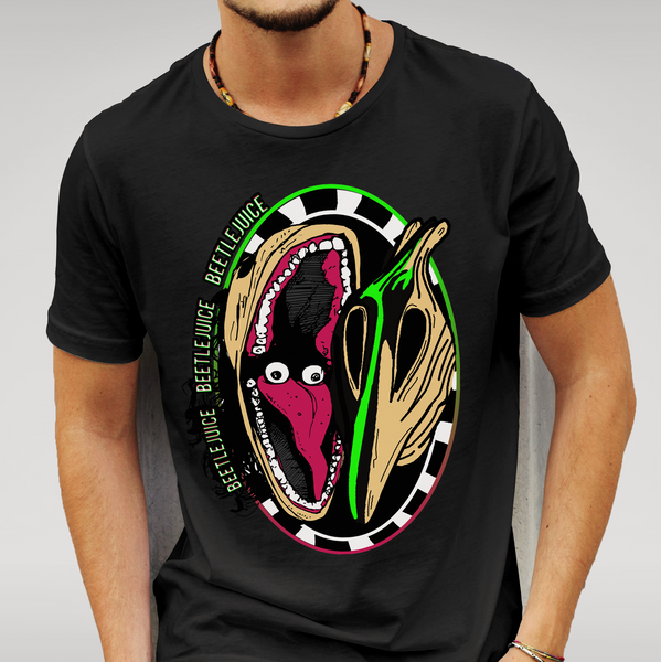Beetlejuice Monster face T-shirt