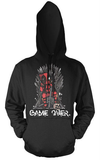 Unisex Hoodie - Game Over - Black