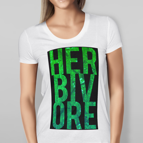 Womens Herbivore White T-shirt