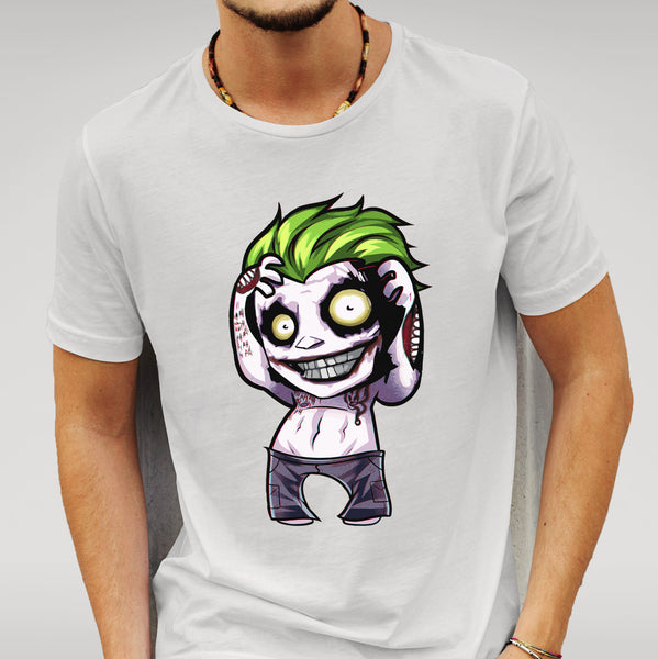 Suicide Squad Style Joker White T-shirt