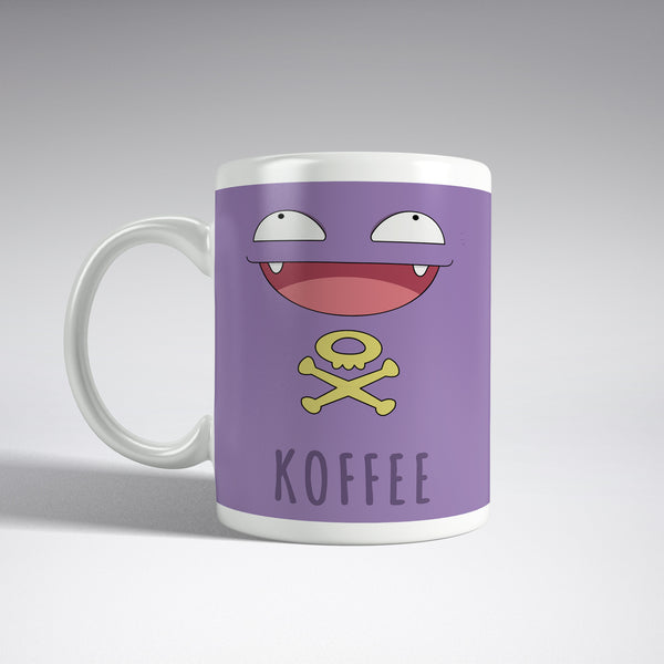 'Koffee' Koffing Pokemon Full Wrap Mug
