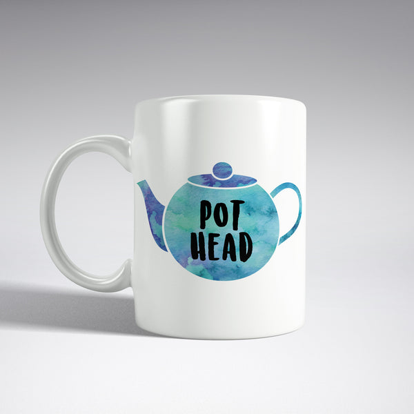 'Pot Head' Teapot mug