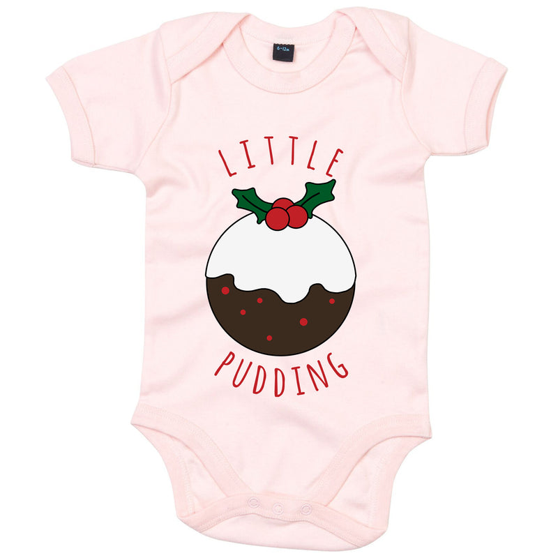 'Little Pudding' Christmas Babygrow