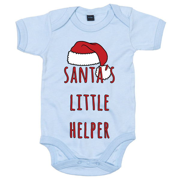 'Santa's Little Helper' Christmas Babygrow