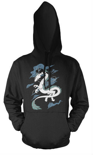 Unisex Hoodie - Spirited Away - Black