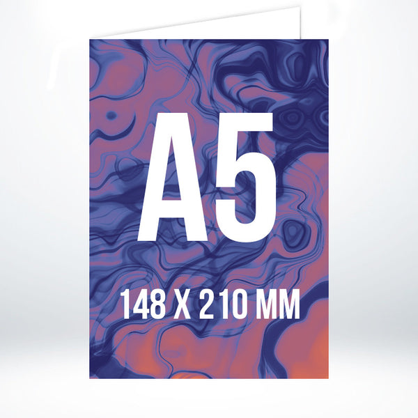 Custom A5 Greetings Card