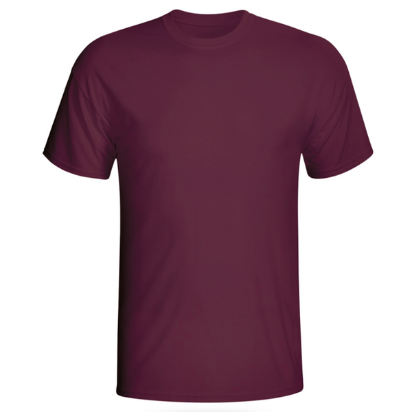 Custom Mens Burgundy Shirt