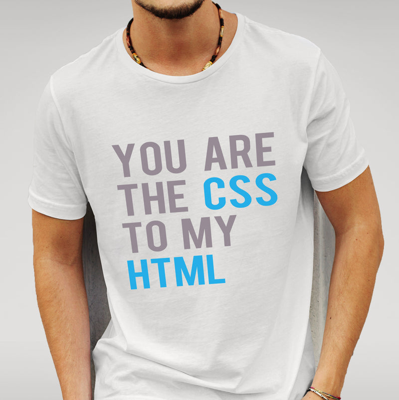 CSS To My HTML White T-shirt