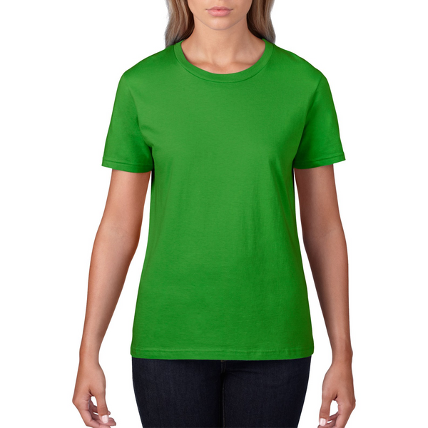 Custom Womens Apple Green Shirt