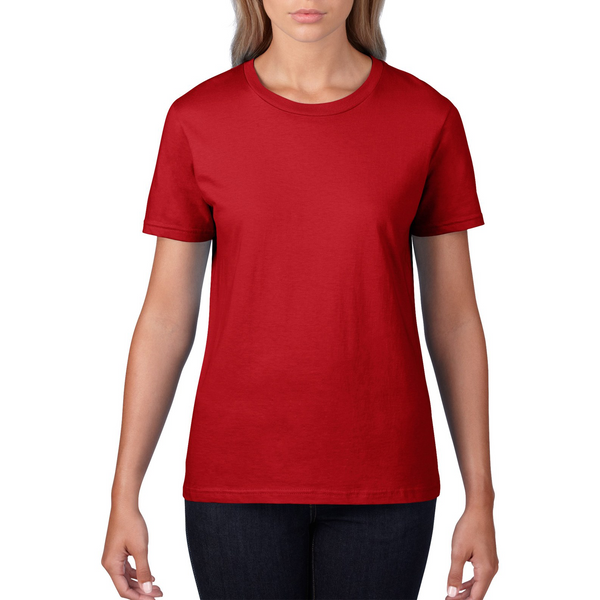 Custom Womens Red Shirt