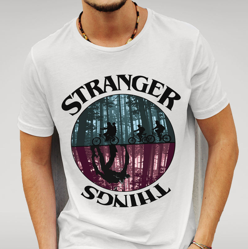 Stranger Things White T-shirt
