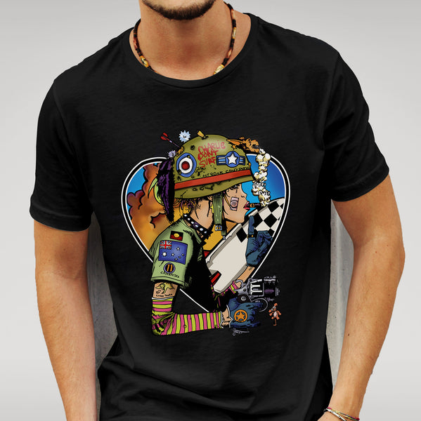 We Love Tank Girl Black T-shirt