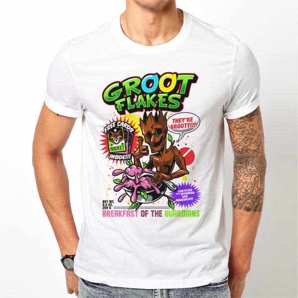Mens Groot Flakes T-Shirt