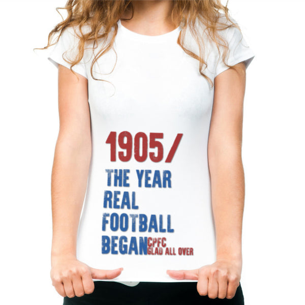 Women's Crystal Palace 1905 T shirt CPFC