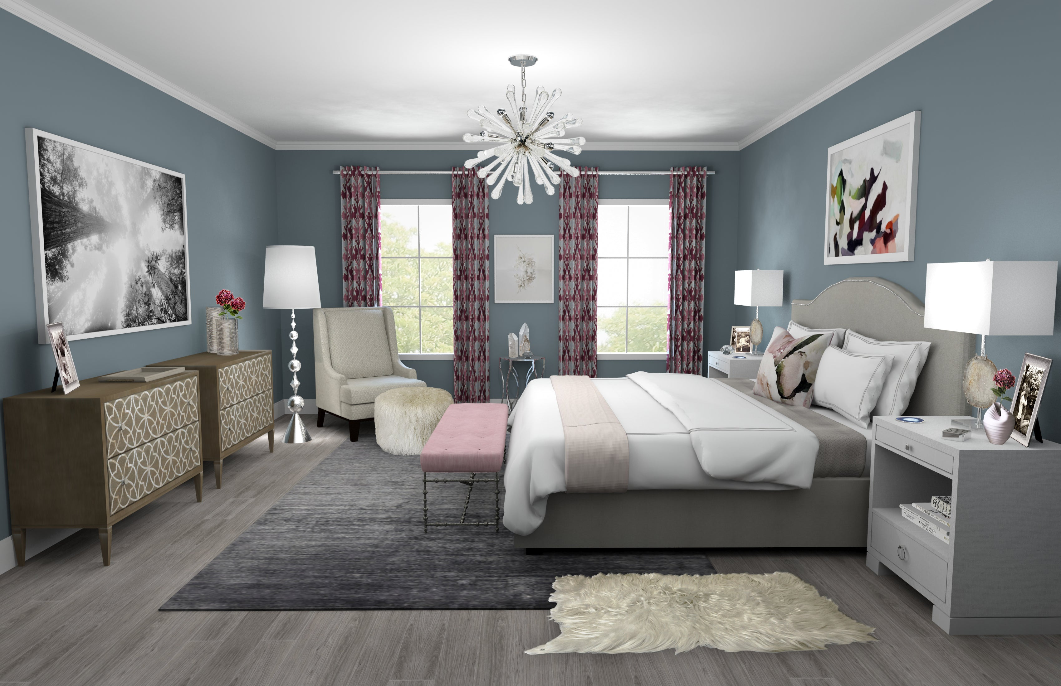 Master Bedroom - Fifty Two Rooms